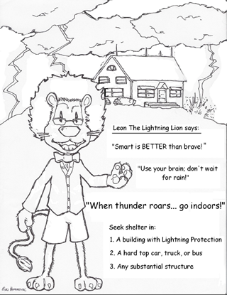 Leon the Lion .pdf Coloring Page