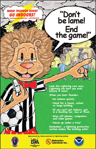 Leon the Lion .pdf Soccer Poster