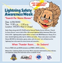 Lightning Safety Awarness Week